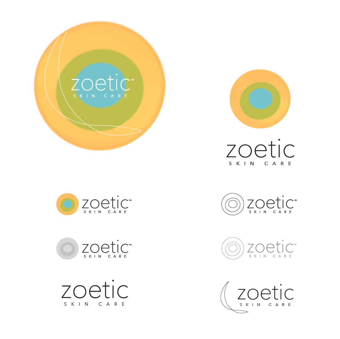 Zoetic Skin Care Identity