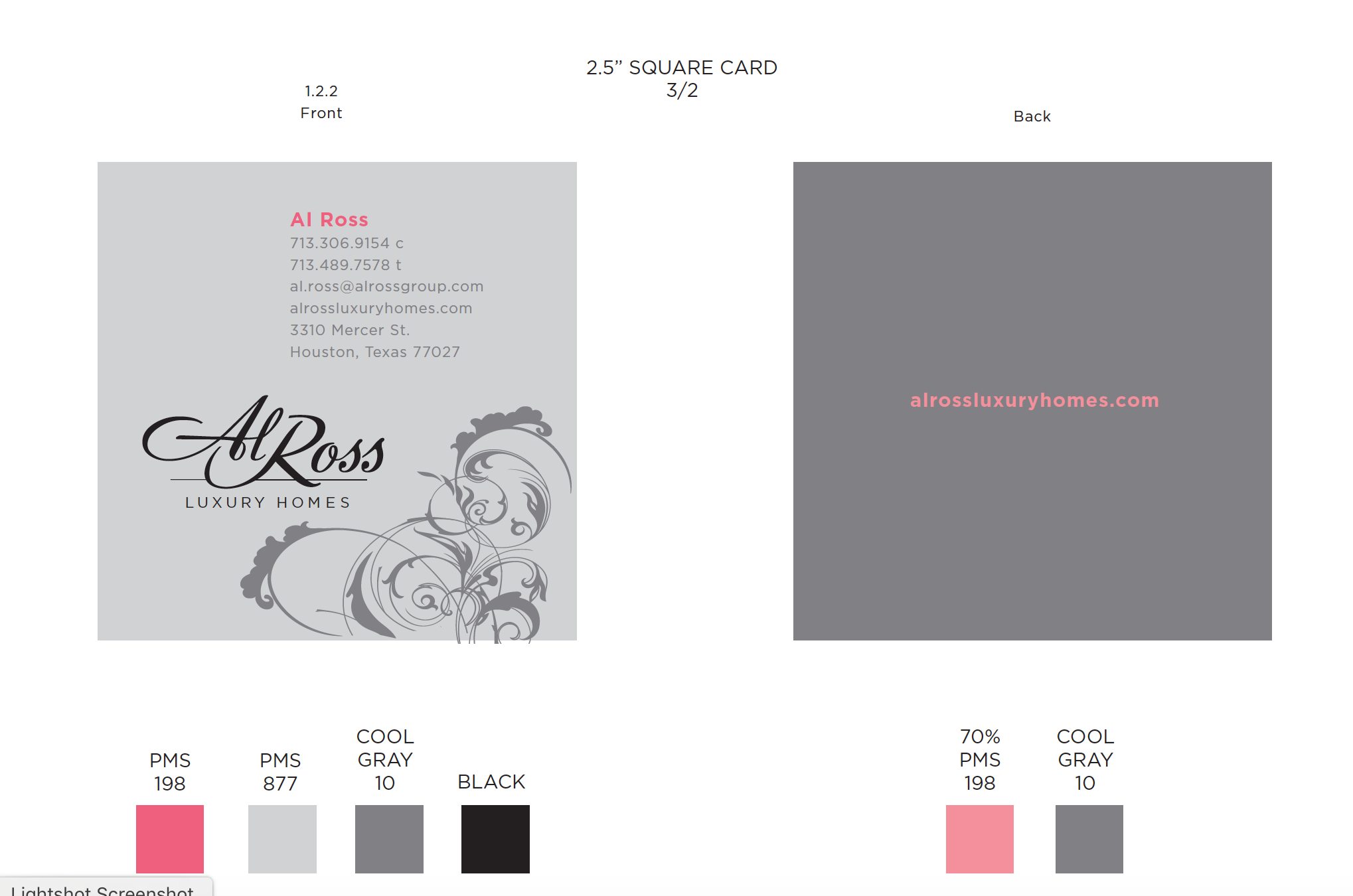 Al Ross Luxury Homes Identity